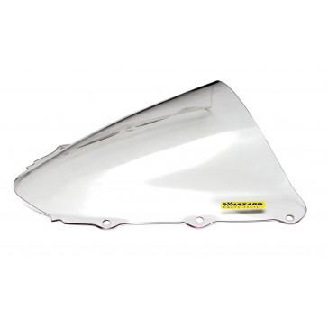 PARABREZZA - HONDA CBR 1000 RR, 2004-2007, plexiglass, trasparente, doppia bolla / bolla alta