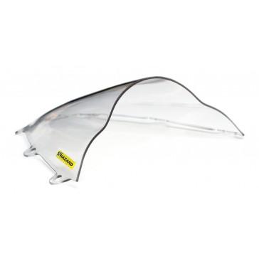 PARABREZZA - HONDA CBR 1000 RR, 2012-2016, plexiglass, trasparente, doppia bolla / bolla alta