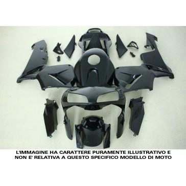 CARENATURA COMPLETA - KAWASAKI ZX 6 R 600, 2009-2012, ABS, non verniciate, compressione