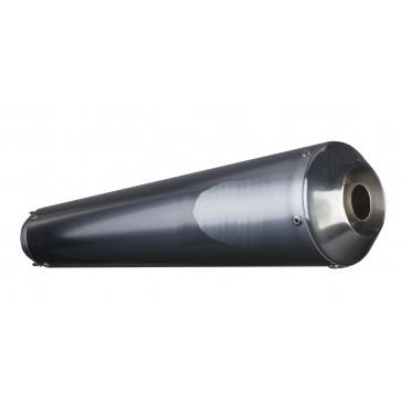 SILENZIATORE - SUZUKI GSX-R 600 / 750, 2011-2013, inox chiaro, CONICO TIPO II, conico, omologato