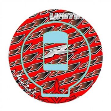 ADESIVI PROTEZIONE TAPPO CARBURANTE - YAMAHA R6, 1999-2002, acrilico, resinato