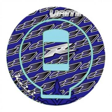 ADESIVI PROTEZIONE TAPPO CARBURANTE - YAMAHA R1, 1998-1999, acrilico, resinato