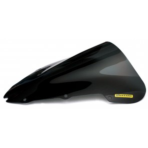 PARABREZZA - HONDA CBR 600 F, 2003-2010, plexiglass, fumè, doppia bolla / bolla alta