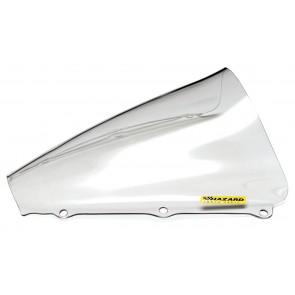 PARABREZZA - HONDA CBR 600 RR, 2003-2004, plexiglass, trasparente, doppia bolla / bolla alta