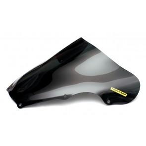 PARABREZZA - SUZUKI GSX-R 600 / 750, 2001-2003, plexiglass, fumè, doppia bolla / bolla alta