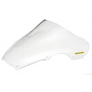 PARABREZZA - SUZUKI GSX-R 600 / 750, 2001-2003, plexiglass, trasparente, doppia bolla / bolla alta
