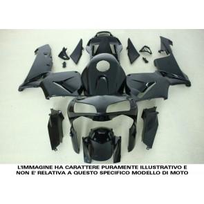 CARENATURA COMPLETA - KAWASAKI ZX 10 R, 2011-2015, ABS, non verniciate, compressione