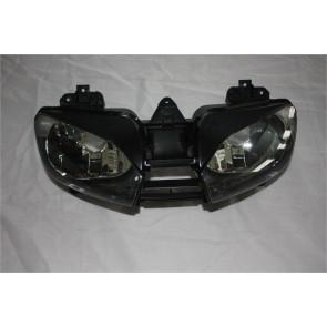 FARO ANTERIORE - YAMAHA R6, 1999-2002, plastica / vetro, lente chiara