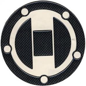 ADESIVI PROTEZIONE TAPPO CARBURANTE - SUZUKI GSX-R 750, 2006-2007, acrilico, resinato