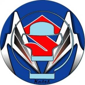 ADESIVI PROTEZIONE TAPPO CARBURANTE - SUZUKI GSX-R 1000, 2003-2004, acrilico, resinato