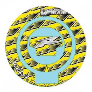 ADESIVI PROTEZIONE TAPPO CARBURANTE - YAMAHA R1, 2007-2008, acrilico, resinato