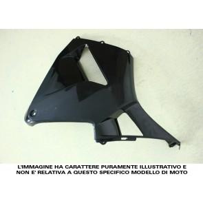 FIANCATA LATERALE (al pezzo quando divise se comprate singolarmente) - KAWASAKI ZX 10 R, 2008-2010, ABS, non verniciate, iniezione