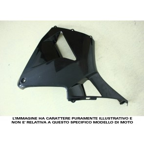 FIANCATA LATERALE (al pezzo quando divise se comprate singolarmente) - SUZUKI GSX-R 600 / 750, 2001-2003, ABS, non verniciate, iniezione