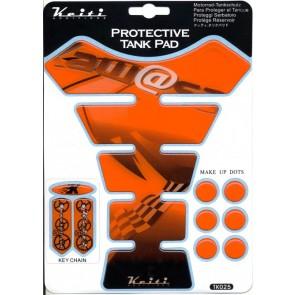 ADESIVI PROTEZIONE SERBATOIO - KAWASAKI ZX 10 R, 2006-2007, acrilico, resinato