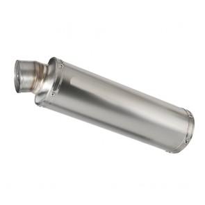SILENZIATORE - HONDA CBR 600 F, 2003-2010, titanio, X-GP, tonda, omologato